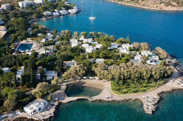 Minos Beach Resort e Spa Crete hotel di lusso creta