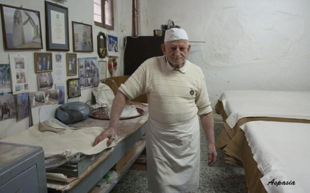 Rethymno George Xatziparaschos Pasticcere mestieri