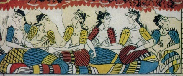 donne epoca minoica tradizione