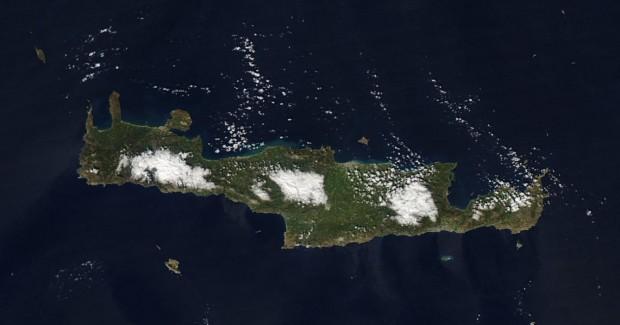 Meteo Creta mappa nuvole previsioni meteo