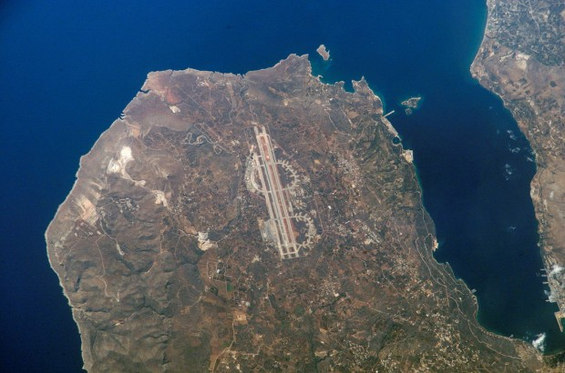 Chania Souda Foto NASA voli per creta