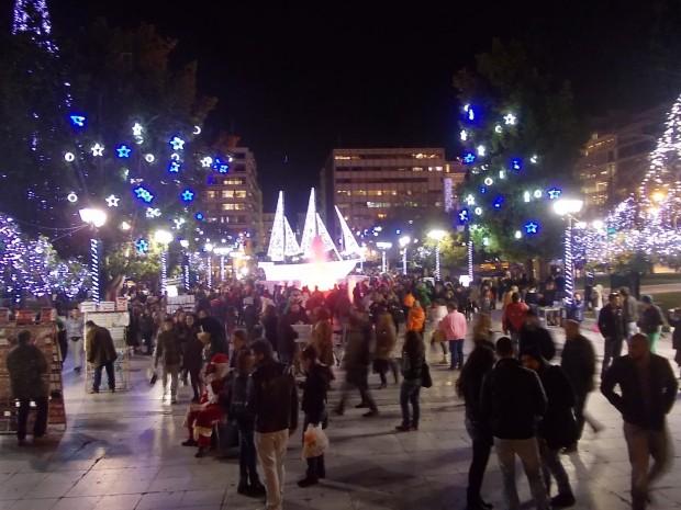 Heraklion Natale Capodanno piazza