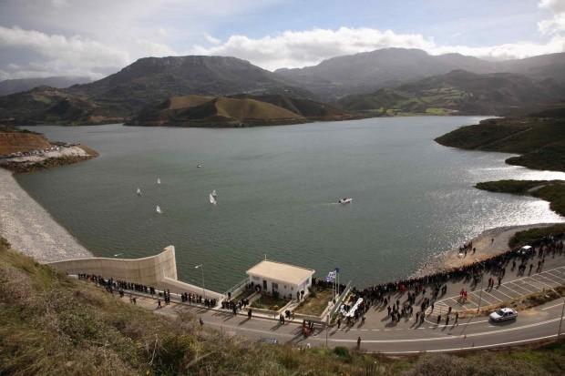 diga di Amari e Lago dei Fiumi di Sifis coccodrillo a Creta epifania