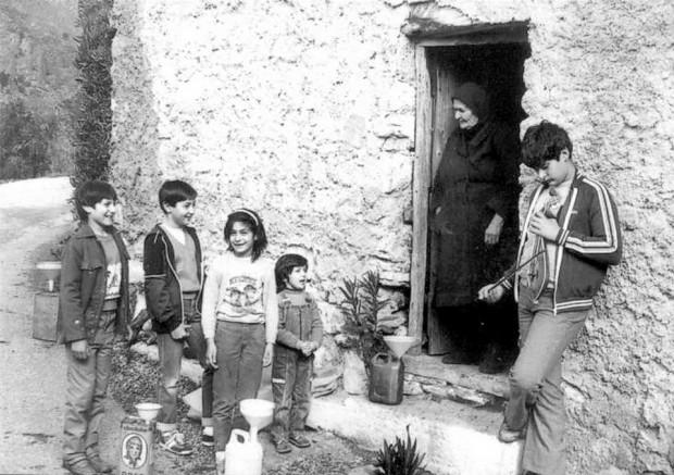 kalanta a Creta vecchia immagine foto antica natale creta